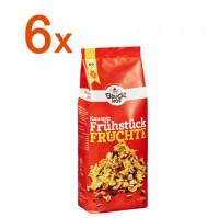 Sparpaket 6 x Knusper Frühstück Früchte - glutenfrei