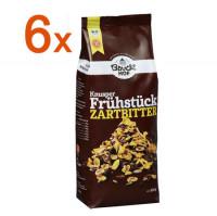 Sparpaket 6 x Knusper Frühstück Zartbitter - glutenfrei