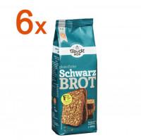 Sparpaket 6 x Schwarzbrot Backmischung - glutenfrei