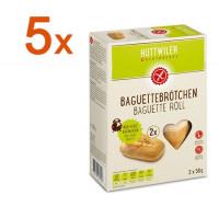 Sparpaket 5 x Baguettebrötchen - glutenfrei