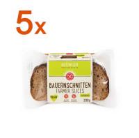 Sparpaket 5 x Bauernschnitten - glutenfrei