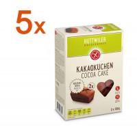 Sparpaket 5 x Kakaokuchen - glutenfrei