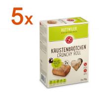 Sparpaket 5 x Krustenbrötchen - glutenfrei