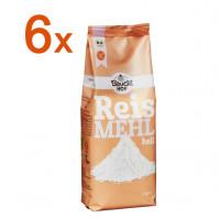 Sparpaket 6 x Helles Reismehl - glutenfrei