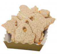 Butterspekulatius mit Mandeln, frisch gebacken - glutenfrei