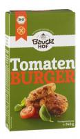 Tomaten Burger mit Basilikum - glutenfrei