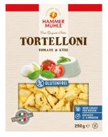 Tortelloni mit Tomate & Käse - glutenfrei