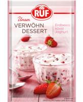 Verwöhn Dessert - Erdbeere küsst Joghurt - glutenfrei
