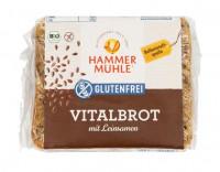 Bio Vitalbrot mit Leinsamen - glutenfrei