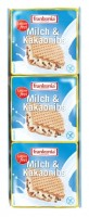 Milch & Kakaonibs Waffelschnitten laktosefrei - glutenfrei