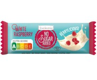 No Sugar Added White Raspberry Riegel - glutenfrei