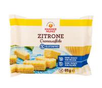 Zitrone Cremewaffeln - glutenfrei
