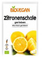 Zitronenschale gerieben - glutenfrei