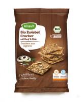 Bio Zwiebel Cracker mit Hanf & Chia - glutenfrei