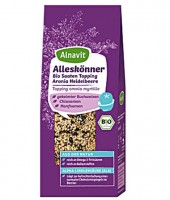 Alleskönner Bio Saaten Topping, Aronia & Heidelbeere - glutenfrei