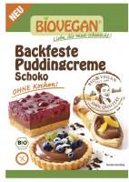 Backfeste Puddingcreme Schoko - glutenfrei