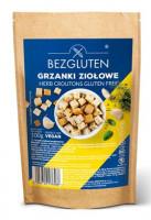 Glutenfreie Croutons mit Kräutern - glutenfrei