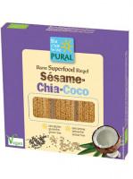 Sesam-Chia-Kokos-Riegel - glutenfrei