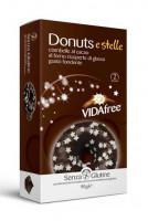 Glutenfreie Donuts e Stelle mit Zuckersternen - glutenfrei