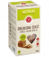 Dreikorn Toast - glutenfrei