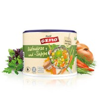 Diätwürze und -Suppe - glutenfrei