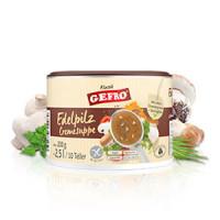 Edelpilz Cremesuppe - glutenfrei
