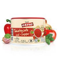Tomatensoße und -Suppe - glutenfrei