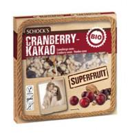Bio Cranberry Kakao Superfruit Riegel - glutenfrei