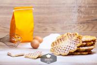 Backmischung knusprige Waffeln - glutenfrei