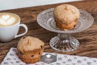 Schoko Muffins 2 Stück, frisch gebacken - glutenfrei