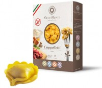Glutenfreie Cappelletti Carne mit Hackfleischfüllung - glutenfrei