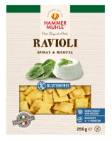 Ravioli mit Spinat & Ricotta - glutenfrei