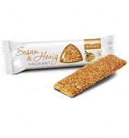 Sesam Honig Krokant Riegel - glutenfrei