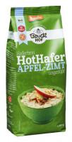 Hot Hafer Haferbrei Apfel-Zimt - glutenfrei