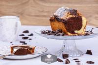 Marmorkuchen, frisch gebacken - glutenfrei
