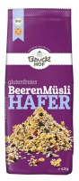 Glutenfreies Hafermüsli mit Beeren - glutenfrei