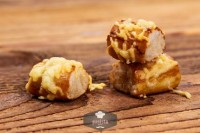 Laugenkonfekt mit Käse, frisch gebacken - glutenfrei