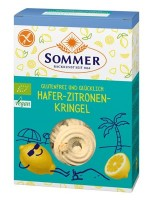 Bio Hafer-Zitronen-Kringel - glutenfrei