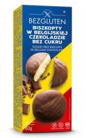 Kekse mit belgischer Schokolade ohne Zuckerzusatz - glutenfrei