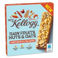 Raw Fruits, Nuts & Oats Riegel - glutenfrei