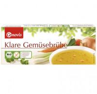 Klare Gemüsebrühe Würfel - glutenfrei