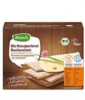 Bio Knusperbrot mit Buchweizen - glutenfrei