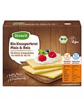 Bio Knusperbrot mit Mais & Reis - glutenfrei