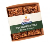 Kuchenkonfekt Walnuss-Haselnuss - glutenfrei