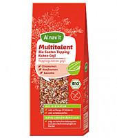 Multitalent Bio Saaten Topping, Kakao & Goji - glutenfrei