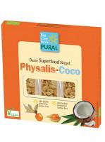 Physalis-Kokos-Riegel - glutenfrei