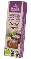 Bio Nuss-Nougat Pralinen mit Milchschokolade - glutenfrei