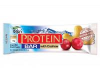 Protein Riegel mit Cashew & Zartbitterschokolade - glutenfrei