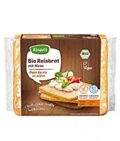 Bio Reisbrot mit Hirse - glutenfrei
