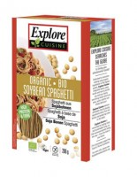 Bio Spaghetti aus Sojabohnen - glutenfrei
